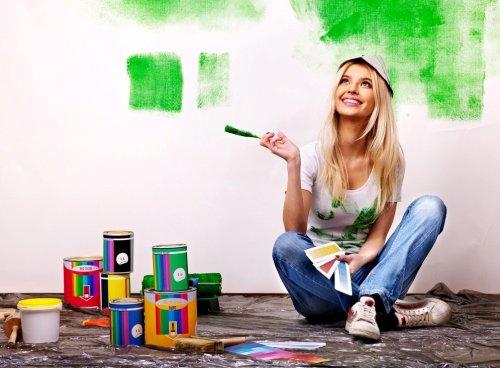 Come dipingere una camera da letto. Pennelli e vernici alla mano ...
