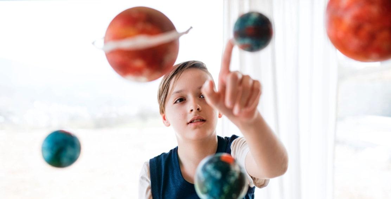 modello del sistema solare
