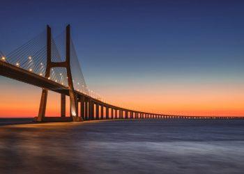 ponte Vasco da Gama in portogallo