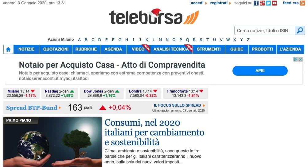 tele borsa online