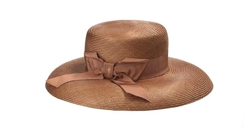cappello paglia donna borsalino