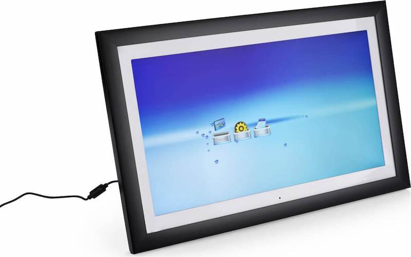 Come caricare le fotografie sulla cornice digitale con la linea Wi-Fi