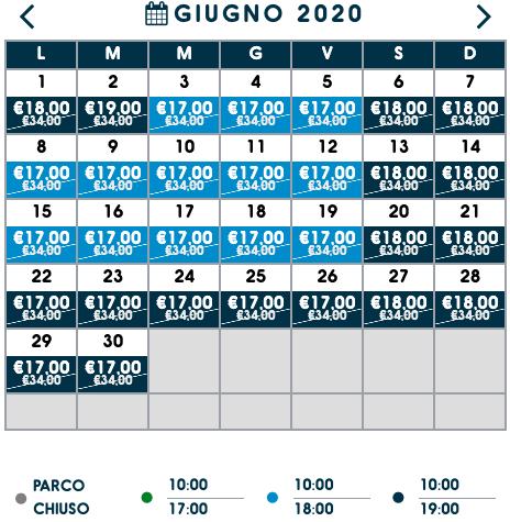 prezzi biglietti zoomarine giugno 2020