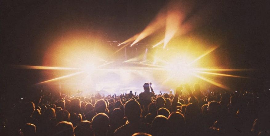 foto ad un concerto