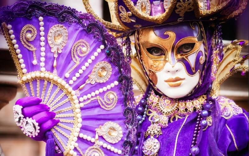 tessuto dama veneziana