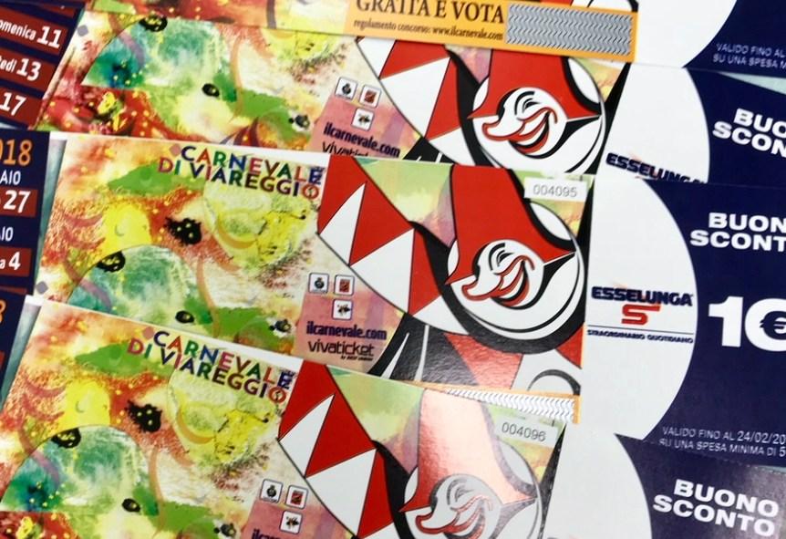 Carnevale Viareggio 2020 dove acquistare i biglietti