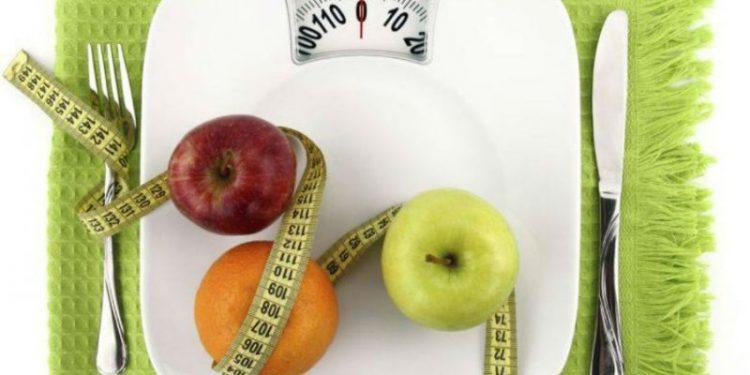 metro, frutta e bilancia