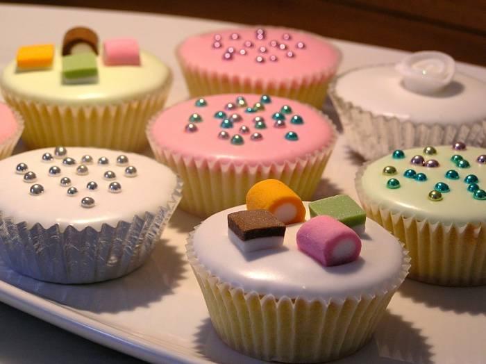 assortimento di cupcakes