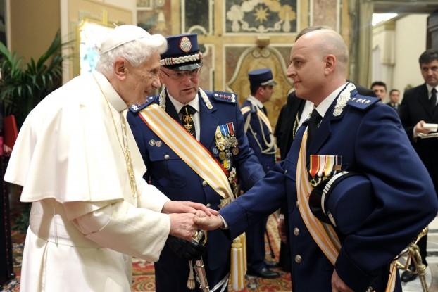 lavorare nella polizia del vaticano