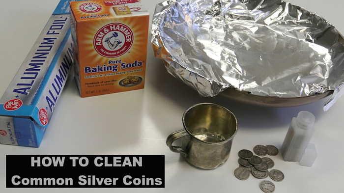 metodi per pulire le monete