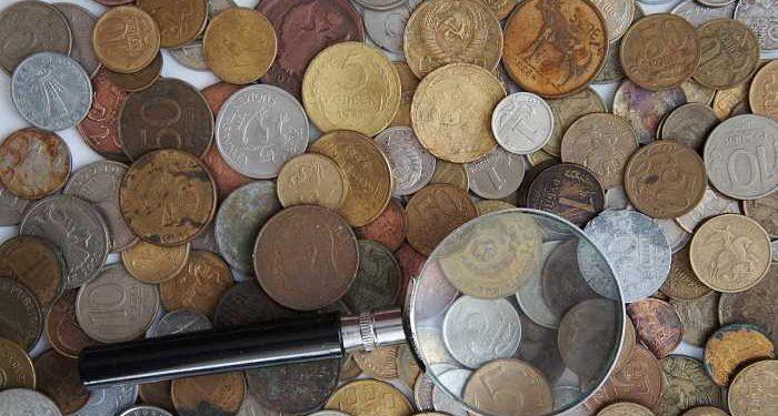 monete e lente