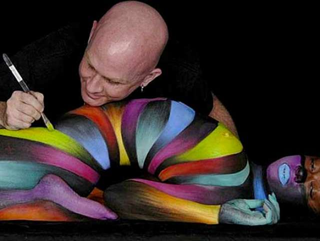 body painting arte