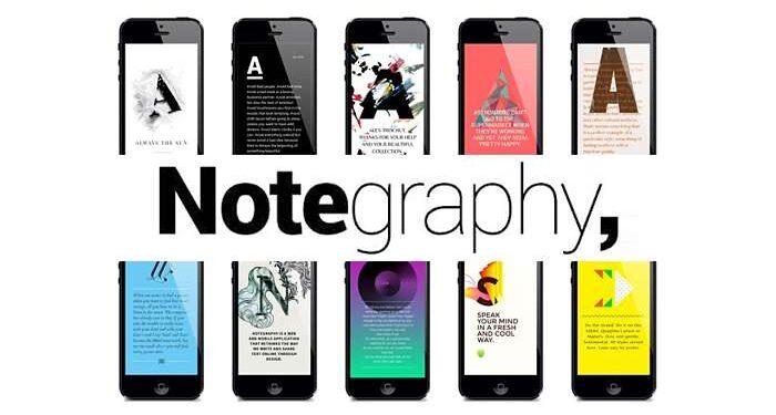 stili e caratteristiche Notegraphy
