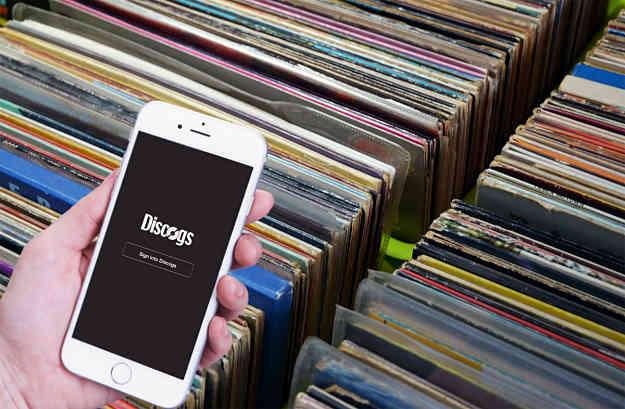 smartphone discogs