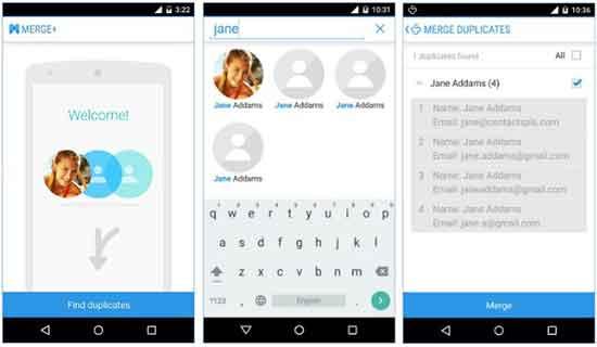 come eliminare i contatti doppi Android