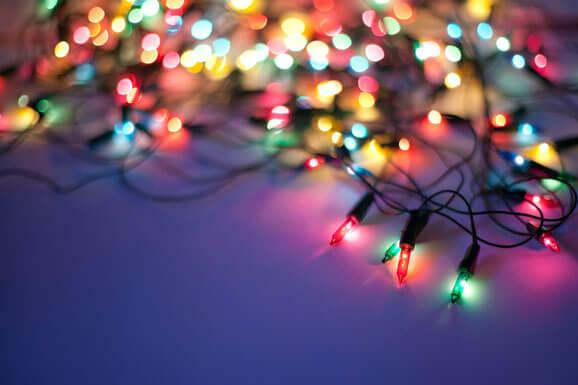 Come riparare le luci di Natale