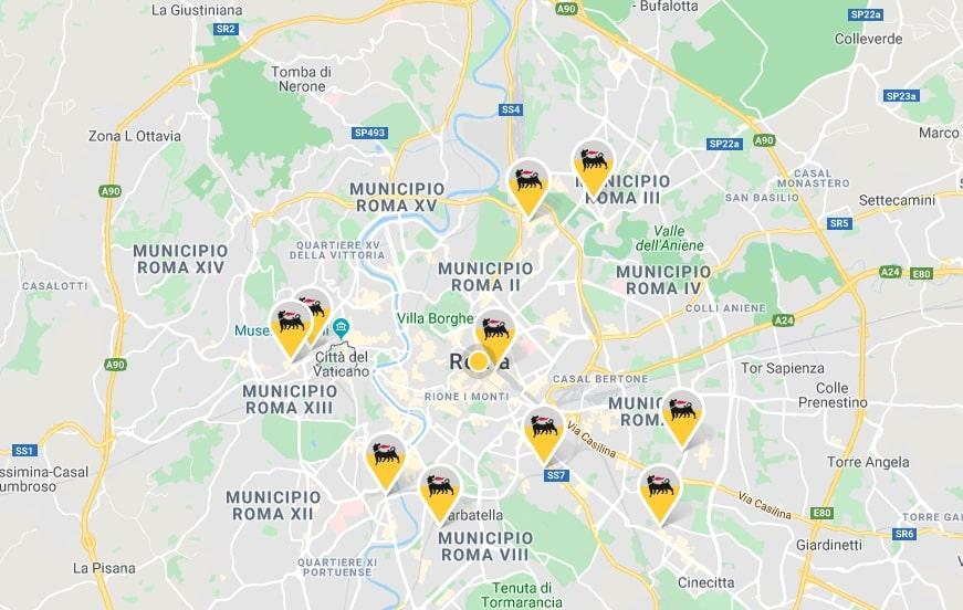 uffici e punti vendita eni roma