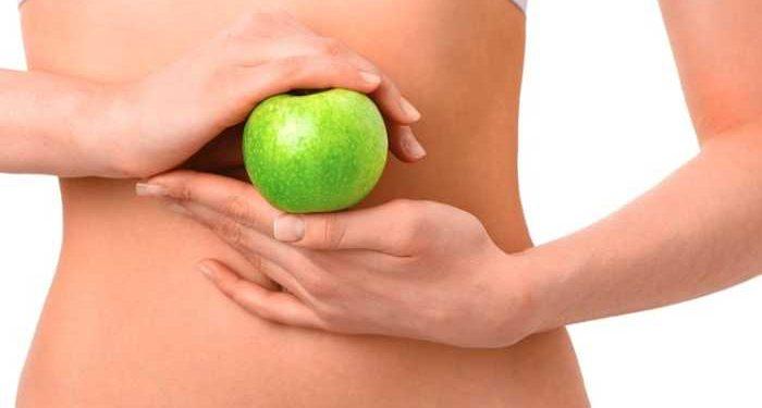 lato sinistro mela