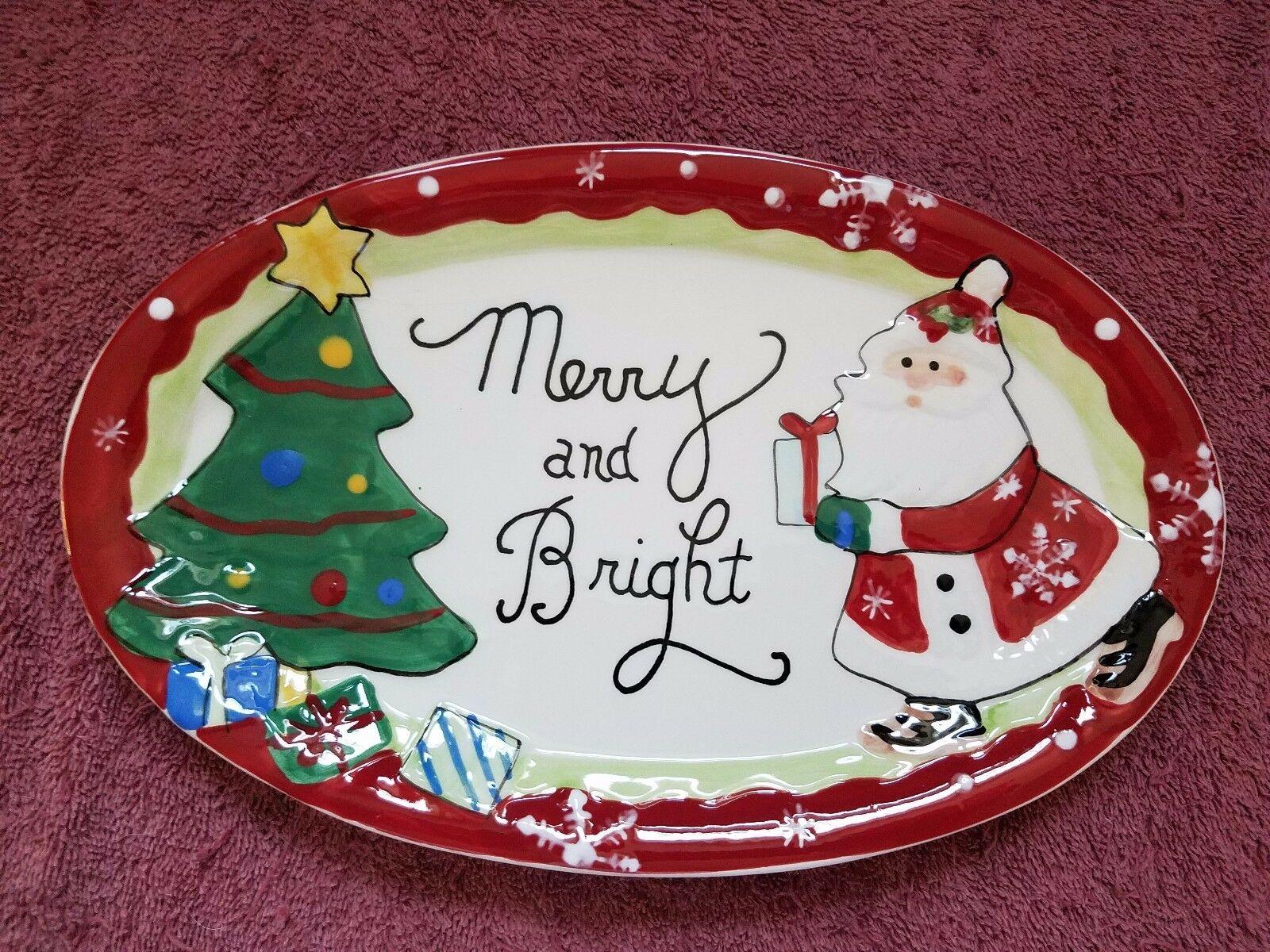 come dipingere Babbo Natale su un piatto