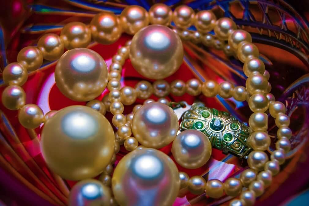 conservare le perle