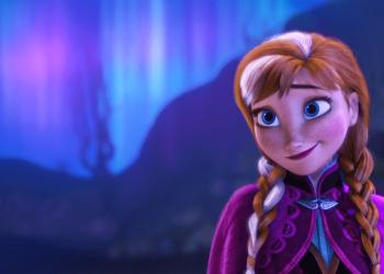 Costume di anna di Frozen
