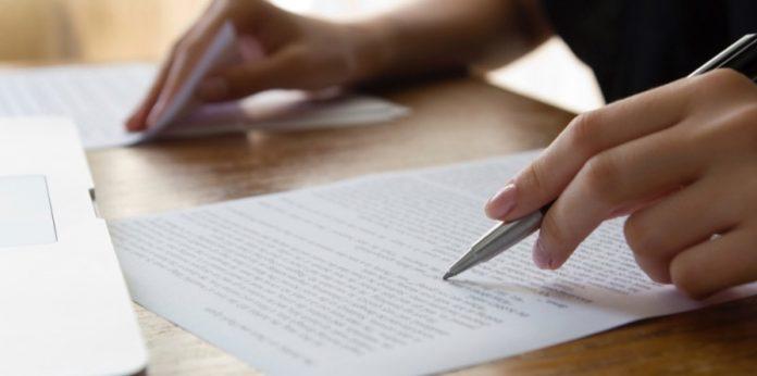 lettera di presentazione regole