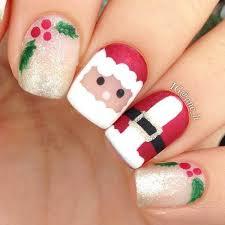 unghie finte babbo Natale