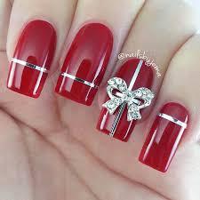 Nail art Natale regalo