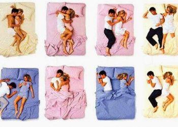 modi di dormire coppia