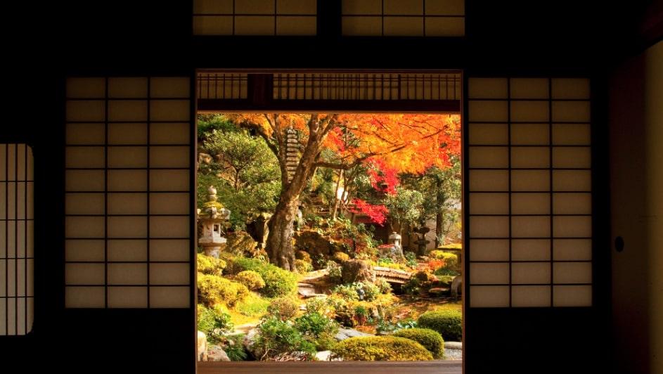 giardino zen giapponese immagini