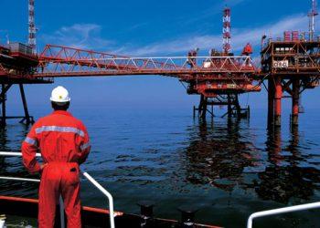 lavorare piattaforma petrolifera