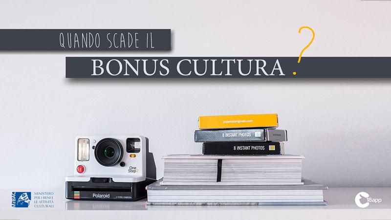 scadenza bonus cultura 2020