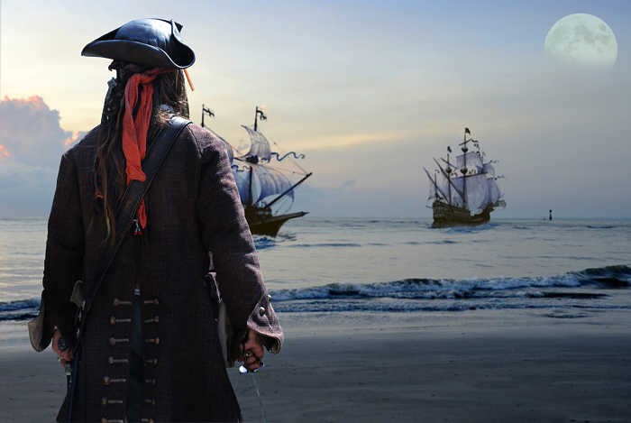 Pirata dei Caraibi costume