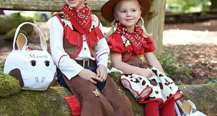 bambini cowboys