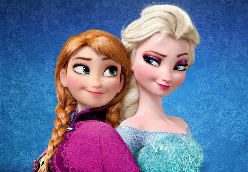 Anna e Elsa di Frozen