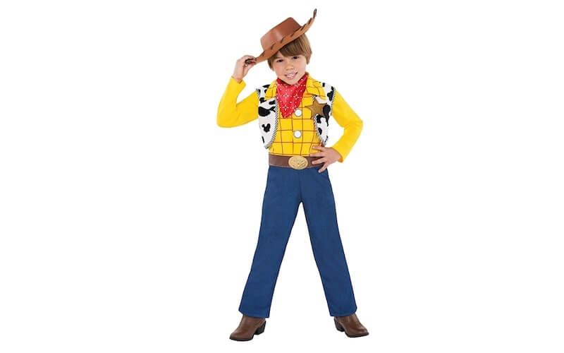 costume carnevale fai da te Cowboy Woody