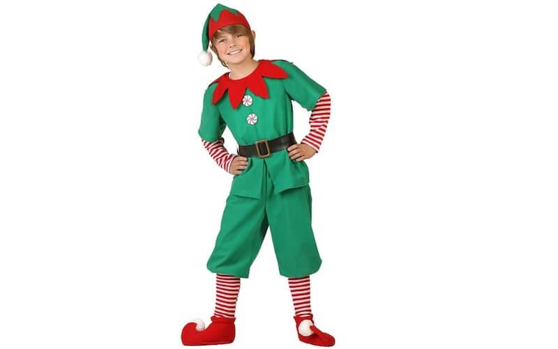costume carnevale fai da te elfo