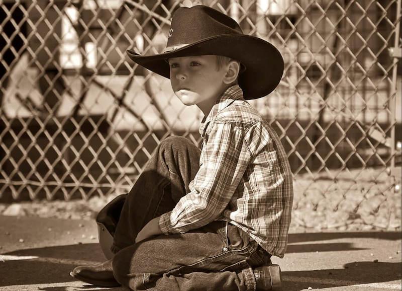 Cowboy vestito di Carnevale