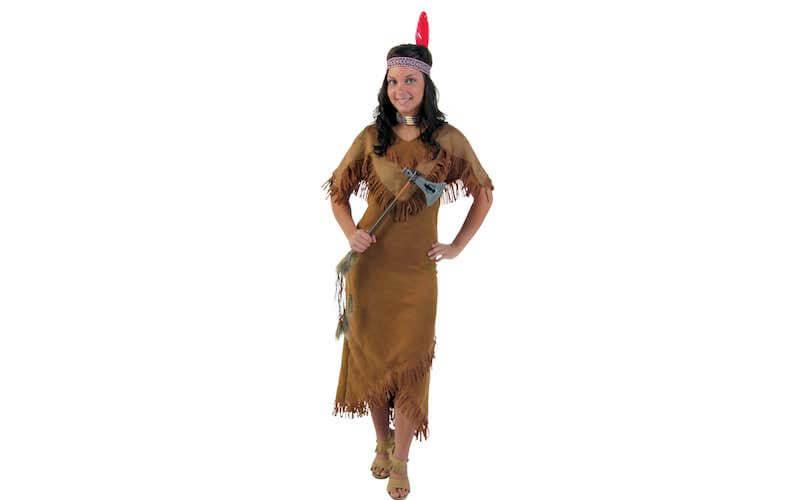 Costume donna Squaw