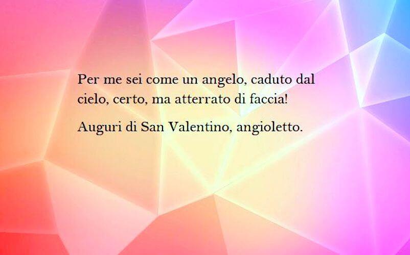 Frase amore angelo san valentino