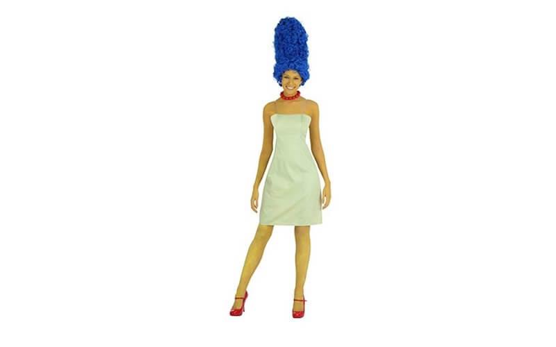 Costume Carnevale fai da te marge Simpson