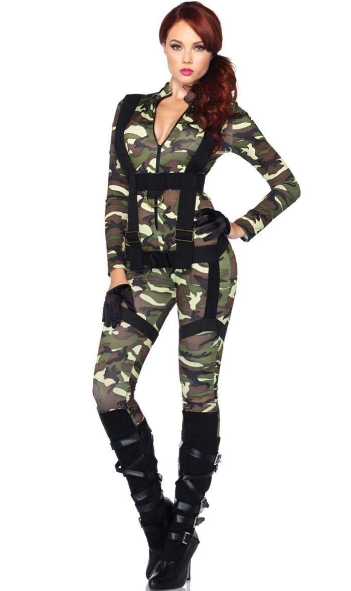 come fare costume militare