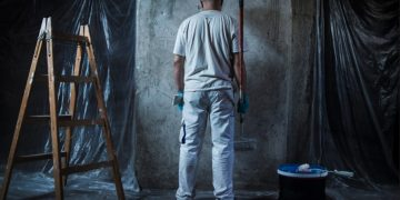 imbiancare pareti casa