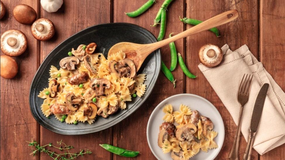 ingredienti ricetta sugo funghi porcini