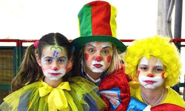 vestiti clown carnevale
