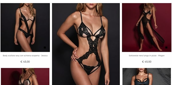 yamamay san valentino prive collection