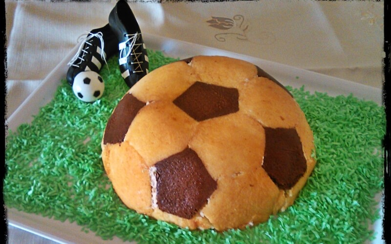 Torta pallone papà