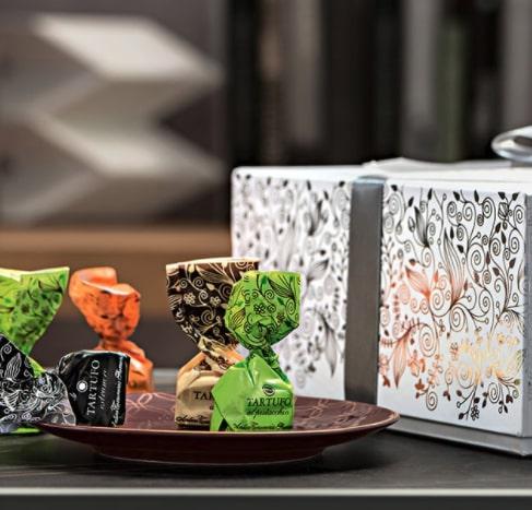 Confezione regalo tartufi dolci