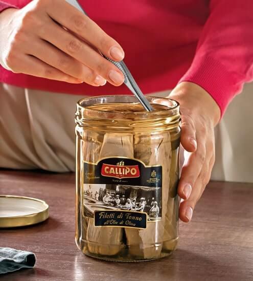 Filetti di tonno all'olio di oliva Callipo