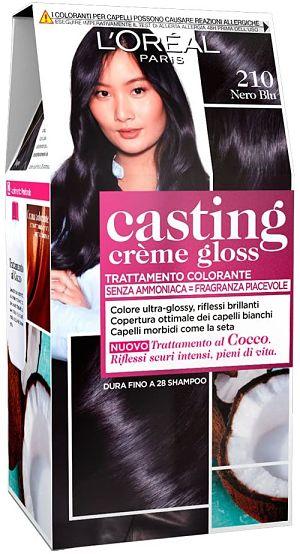 L'Oréal Paris Casting Crème Gloss Colorazione Capelli, Tinta Colore Trattamento Senza Ammoniaca